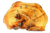 Reloj de pared de madera — Foto de Stock