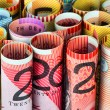 Rolls of money - Stock Photo