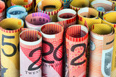 Rolls of money — Foto Stock