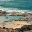 Stock Photo: Champagne pools