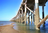 Hervey Bay Australia Jetty — Stock Photo