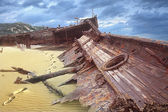 Meheno shipwreck — Stock Photo