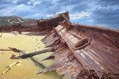 Meheno shipwreck — Foto Stock