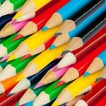 ensemble de crayons de couleur — Photo