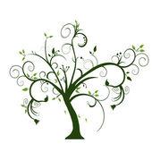 Swirly tree — Stock Photo