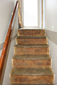 Old steps renovating — Stock Photo