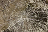 Glass smashed — Stock Photo