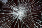 Broken glass — Stockfoto