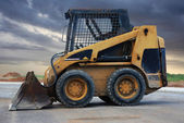 Skid loader — Stock Photo