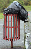 Rubbish bin — Stock Photo