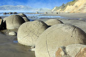 Moeraki Boulders NZ — Stock Photo