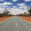 Stock Photo: Road in outback Australia