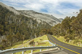 Road to Thredbo Kosciuszko National Park — Stock Photo