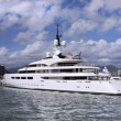 Yacht With Helicopter Pad — Stock Photo #47393419