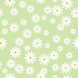 Stock Vector: Daisies