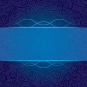 Streszczenie loki w kolorze niebieskim — Wektor stockowy