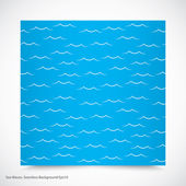 Sea waves — Stock Vector