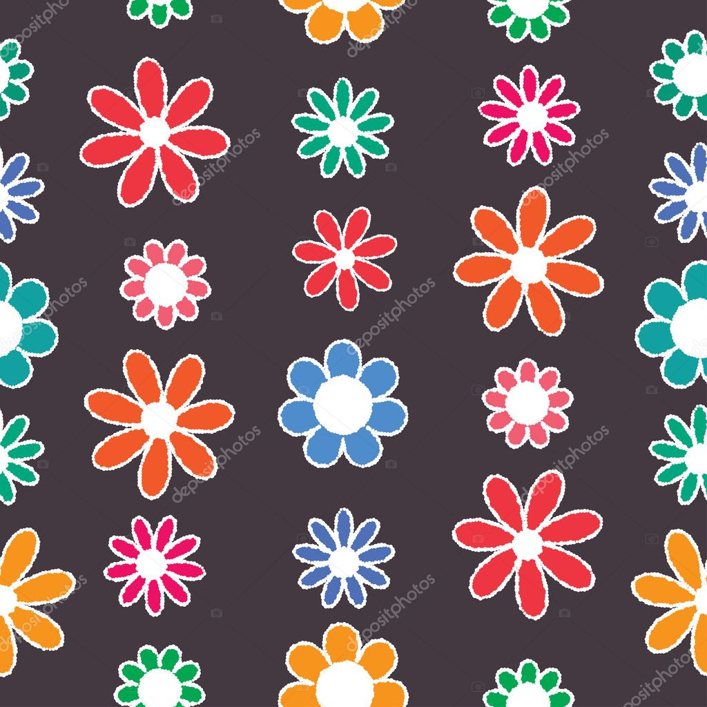 Floral seamless pattern. Eps8  Stock Vector #20140025