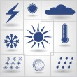 Weather - Stock Vector