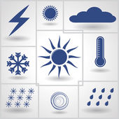 Weather — Stock Vector