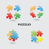 Puzzle — Wektor stockowy