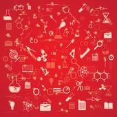 Education background — Cтоковый вектор