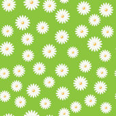 Field of daisies — Stock Vector