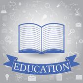 Educación — Vector de stock