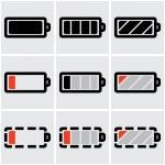 Batteries — Stock Vector #27117651