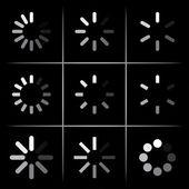 进度指示器 — 图库矢量图片