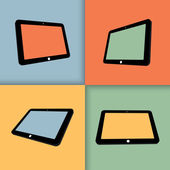 Tablets — Stockvector