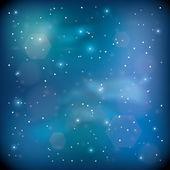 Espace bleu — Vecteur