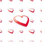 Kalp arka plan — Stok Vektör