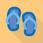 Sandal — Stock Vector