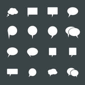 Chat icons — Stock Vector