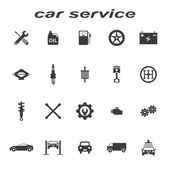Car servise icons — Stock Vector