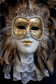 Artificial venetian mask — Stock Photo