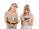 Ebook is more convenient — Stock Photo