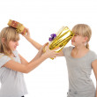 Fighting with gifts — Stock Photo #31166795