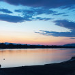 Stock Photo: Danube sunset