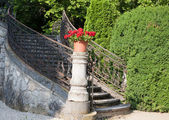 Old stone stairway — Stock Photo