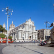 Catania's main square — Stock Photo #38922725