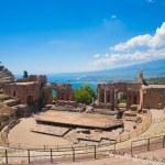 Taormina's Theater — Stock Photo