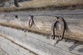 Rusty horseshoe — Стоковое фото