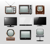 TV set — Stock Vector