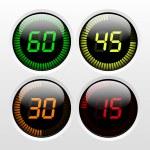 temporizador digital — Vetorial Stock
