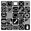 Icons for smartphone — Stock Vector