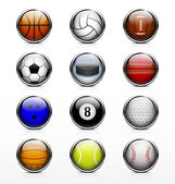 Sports ball icon — Stock Vector