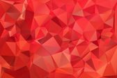 Red abstract background polygon. — Stock Vector