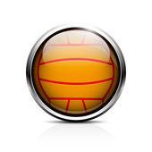 Water polo ball icon — Wektor stockowy